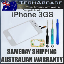 iPhone 3GS LCD Glass Touch Screen Digitizer Sensor Panel White Tools Adhesive