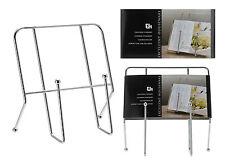 Chrome Libro Cucina Stand Supporto per libri di cucina cottura ricetta titolare resto libro di cucina