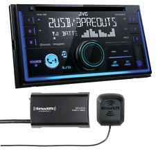 JVC KW-R935BTS Double DIN Bluetooth In Dash Car Stereo SiriusXM Tuner Included