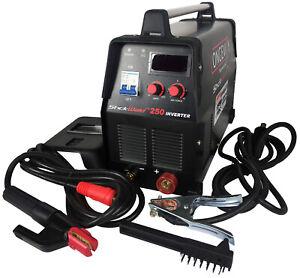 Longevity STICKWELD 250, 250 Amp 220V DC STICK Welder (6010/6011 Capable)