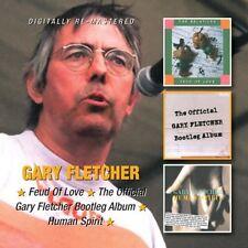 Gary Fletcher - Feud of Love/Official Bootleg Album/Human Spirit (2013)  2CD NEW