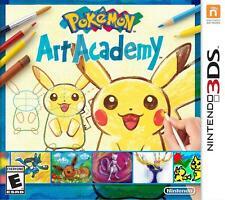 NINTENDO 3DS POKEMON ART ACADEMY - VIDEO GAME - *BRAND NEW SEALED*