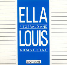 ELLA FITZGERALD, LOUIS ARMSTRONG Ella And Louis Mondane CD BL 87079 CD