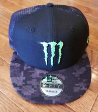 ATHLETE ONLY!! Monster Energy NewEra Snap Back BRAND NEW!!! Hard to find!