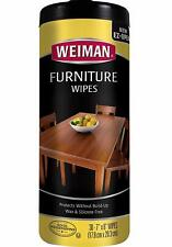 Weiman Wood Cleaner and Polish Wipes - Non Toxic For Furniture To Beautify  Pro