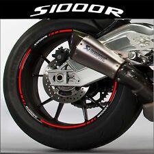 LISERETS JANTES MOTO S1000R S 1000 R STICKERS kit pour 2 jantes 40 couleurs
