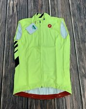 Castelli Thermal Pro Vest Size Men's XL Neon Yellow New with Tags