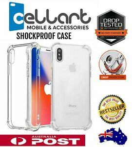 Clear Shockproof Bumper Back Case Cover For iPhone 12 11 Pro XS MAX X XR 6 7 8 +