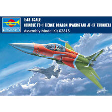 Trumpeter 02815 1/48 Chinese FC-1 Fierce Dragon(Pakistani JF-17 Thunder) Fighter