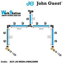 John Guest-JG-Work Station Drop Down Add-on Kit- 22mm Kit-Air Fittings