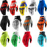 100% Airmatic Mens Pair Offroad MX Riding Dirt Bike Racing Textile Gloves
