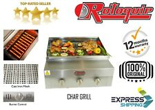 Commercial Chargrill + Grill Barbecue + griglia a carbone + Fiamma KEBAB BARBECUE GRILLER