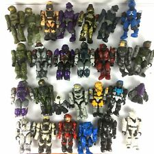 Random 10PCS Halo Mega Bloks Party Building Toys Action Figure cute toy gift