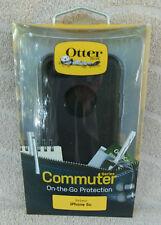 OtterBox Commuter Series Apple iPhone 5c Case ~ Black ~ NEW