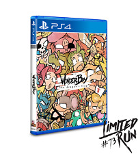 Wonderboy - Ps4 Limited run games Brand new - Neuf