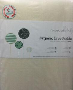 Naturepedic Baby Organic Breathable 2 Stage Baby & Toddler Crib Mattress