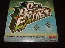 Konami Dance Dance Revolution Extreme Limited Edition Music Sampler CD Brand New