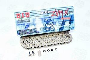DID 530 x 112 Links ZVMX Super Street Series Xring Sealed Gold Drive Chain
