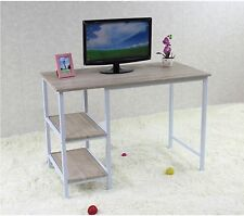 Modern Home Office Desk Computer PC Table Workstation Bookcase Shelf storage