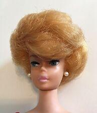 Vintage Barbie Platinum Bubble Cut In Original Box Bubblegum Pink Lips