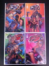 TONY DANIEL'S F5 SET  #1, 2, 3, 4 (2000) NM IMAGE COMICS