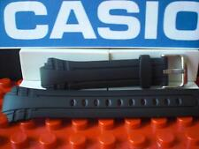 81b2e3c4e9a0 Casio Watch Band MTR-302 Black Rubber Strap w  Steel buckle and Attaching  Pins