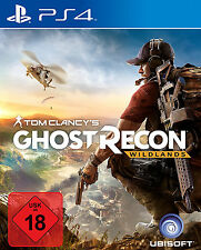 PS4 Ghost Recon Wildlands Tom Clancys PS4 Neu+in Folie