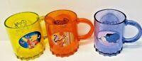 Disney Eeyore Tigger Winne the Pooh n Piglet Cup Mug Plastic kids