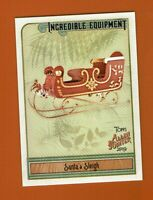2019 Topps Allen & Ginter Incredible Equipment Santa's Sleigh IE-17