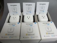 3 Koogeek P1 Smart Outlet Plug for Apple HomeKit + Siri, Google Assistant