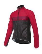 Giubbini da ciclismo termici rosso per uomo