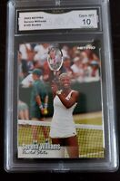 2003 Netpro Tennis Serena Williams Rookie Card #100 GRADED GMA GEM MINT 10