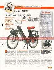 E-SOLEX 2007 (Velosolex Solex Electrique) Joe Bar Team Fiche Moto #002125