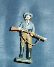 IMRIE RISLEY 54MM PAINTED AMERICAN CONFEDERATE INFANTRY CIVIL WAR MARCHING