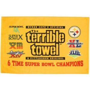 Pittsburgh Steelers 6X Super Bowl Champions Terrible towel