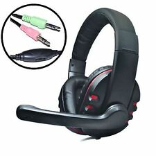 Dynamode DH-878 Surround Sound PC Gaming Casque microphone de casque 3.5 mm