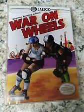 War on Wheels Nintendo NES Prototype Unreleased Game Reproduction Complete CIB!