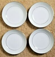 "Set of 4 Crown Victoria Lovelace 5.5"" Fruit/Berry Bowls - Japan Fine China ""H"""