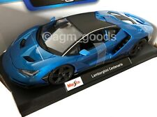 Maisto 1:18 Scale - Lamborghini Centenario - Blue - Diecast Model Car