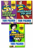 Rugby Academy Tom Palmer Collection 3 Books Set Pack Dead Locked, Surface to Air