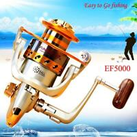 12BB Ball Bearing L/R Interchangeable Spinning Fishing Reel Wheel High Speed