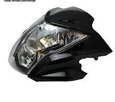 Black Headlight Fairing Light Lamp Cowling For Kawasaki ER-6N ER6N 2012-2014