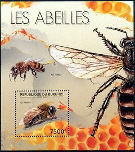 BURUNDI 2012 MNH SS, Honey Bees, Insects