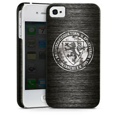 Apple iPhone 4 Premium Case Cover - Metall scratched