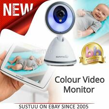 Summer Infant Baby Pixel Colour Video Monitor 360 DegreeTilt & 3x Zoom Camera