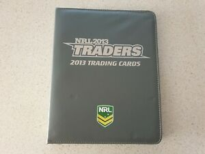 NRL Rugby League traders trading card album 2013 complete common 192/192