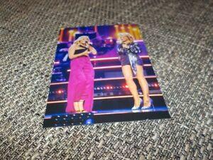 Schönes Helene Fischer & Michelle Glamour Foto - Größe 10x15cm 52****
