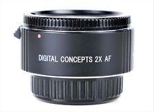 Sony Alpha Minolta AF Digital Concepts 2x AF Tele Converter distributeur 8 broches