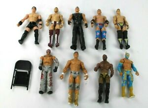 WWE Wrestling Figure Toys 2011 And 2005 Lot Of 9
