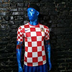 Croatia Team Jersey Home football shirt 2012 - 2014 Nike 450497-614 Trikot Men S